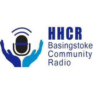 Helping hands community radio logo.